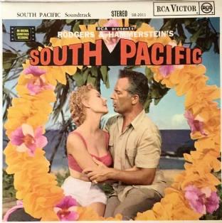 V/A ‎- Rodgers & Hammerstein's South Pacific: Original Soundtrack (LP) (NM/EX-)